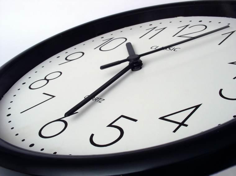 Trovare il tempo per scrivere: un orologio