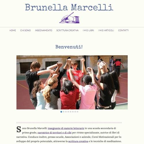 Siti per scrittori - Brunella Marcelli