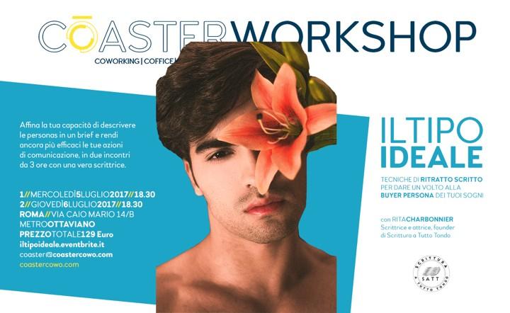 """Workshop di comunicazione """"Il tipo ideale"""": la locandina"""