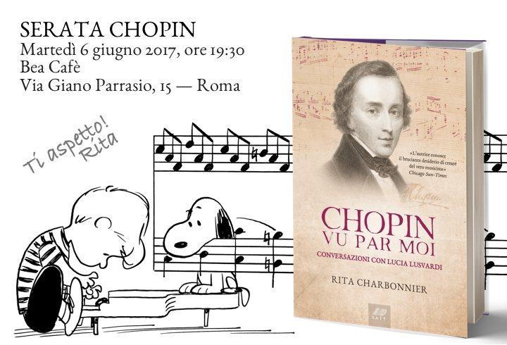 Chopin vu par moi - l'invito alla presentazione