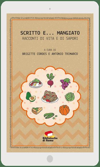 Scritto e... mangiato | La copertina dell'eBook