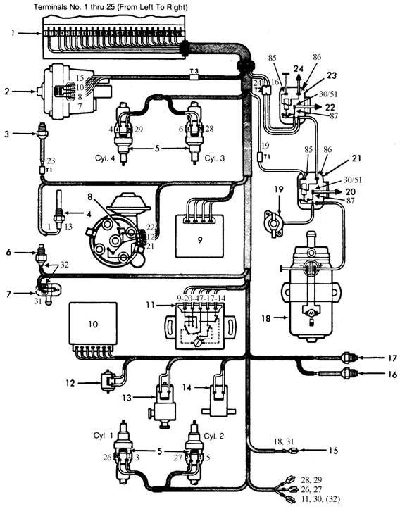 1984 Mazda B2000 Wiring Diagram, 1984, Free Engine Image