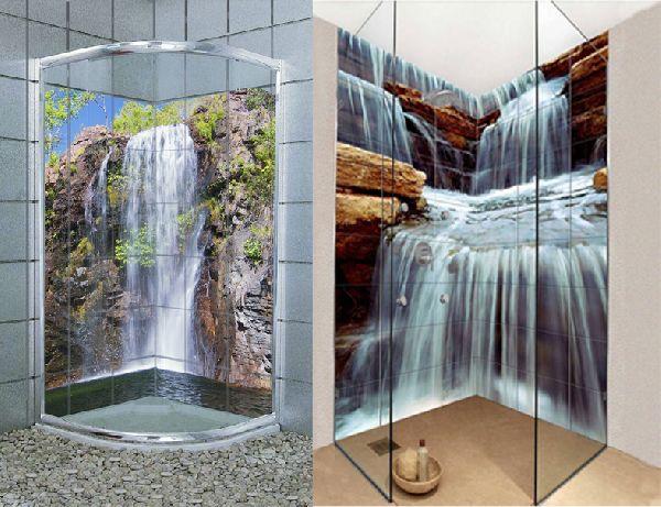 Mattonelle a mosaico per docce