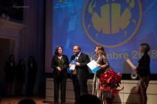 Agrigento Premio Karkinos 2018 Il professor Francesco Pira ritira il Premio