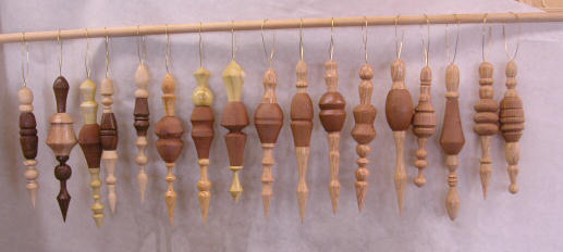 Lathe Christmas Ornaments