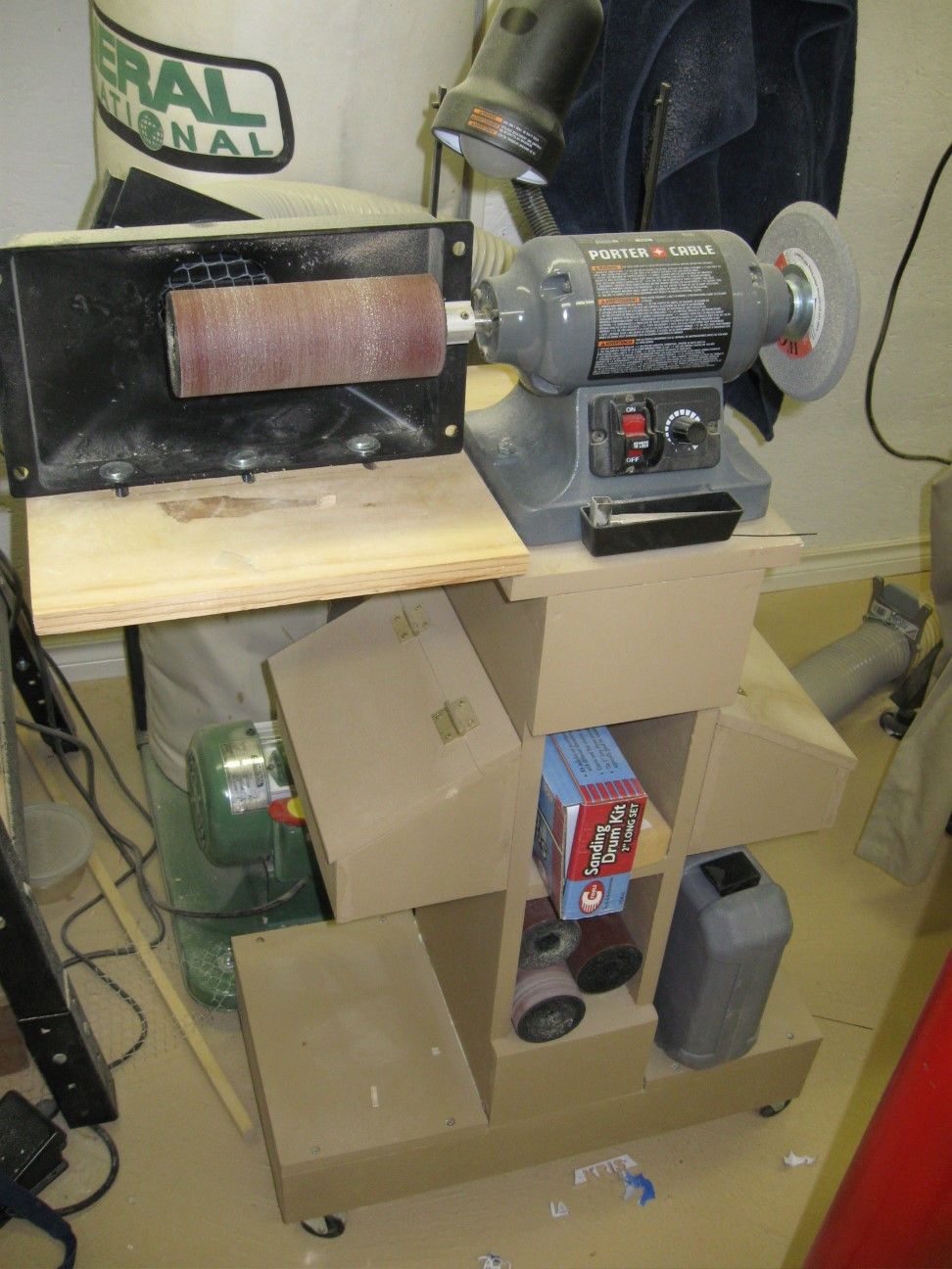 Variable Speed Buffer Grinder Suitable For Sanding Mops