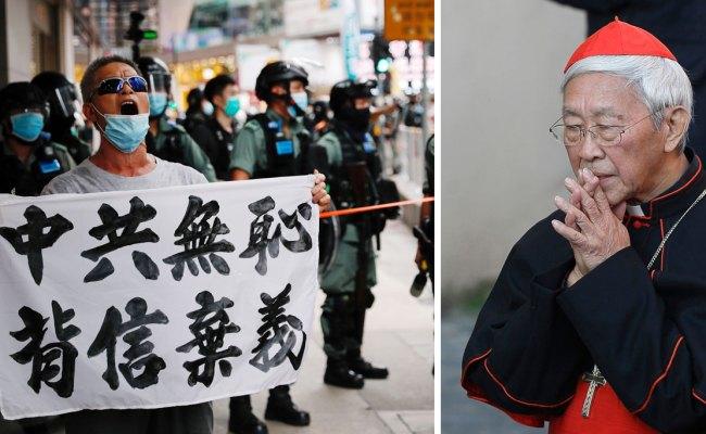 Cardinal Zen I Am Prepared For Arrest Under Hong Kong