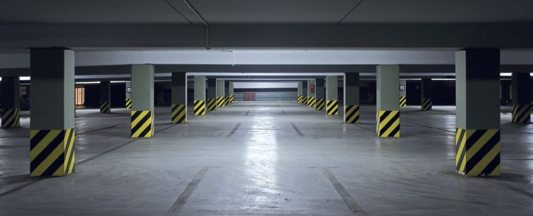 Clean Parking Garage