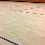 Wood Gym & Synthetic Sports Floors Back in Use 24 Hours After Re-Coat!