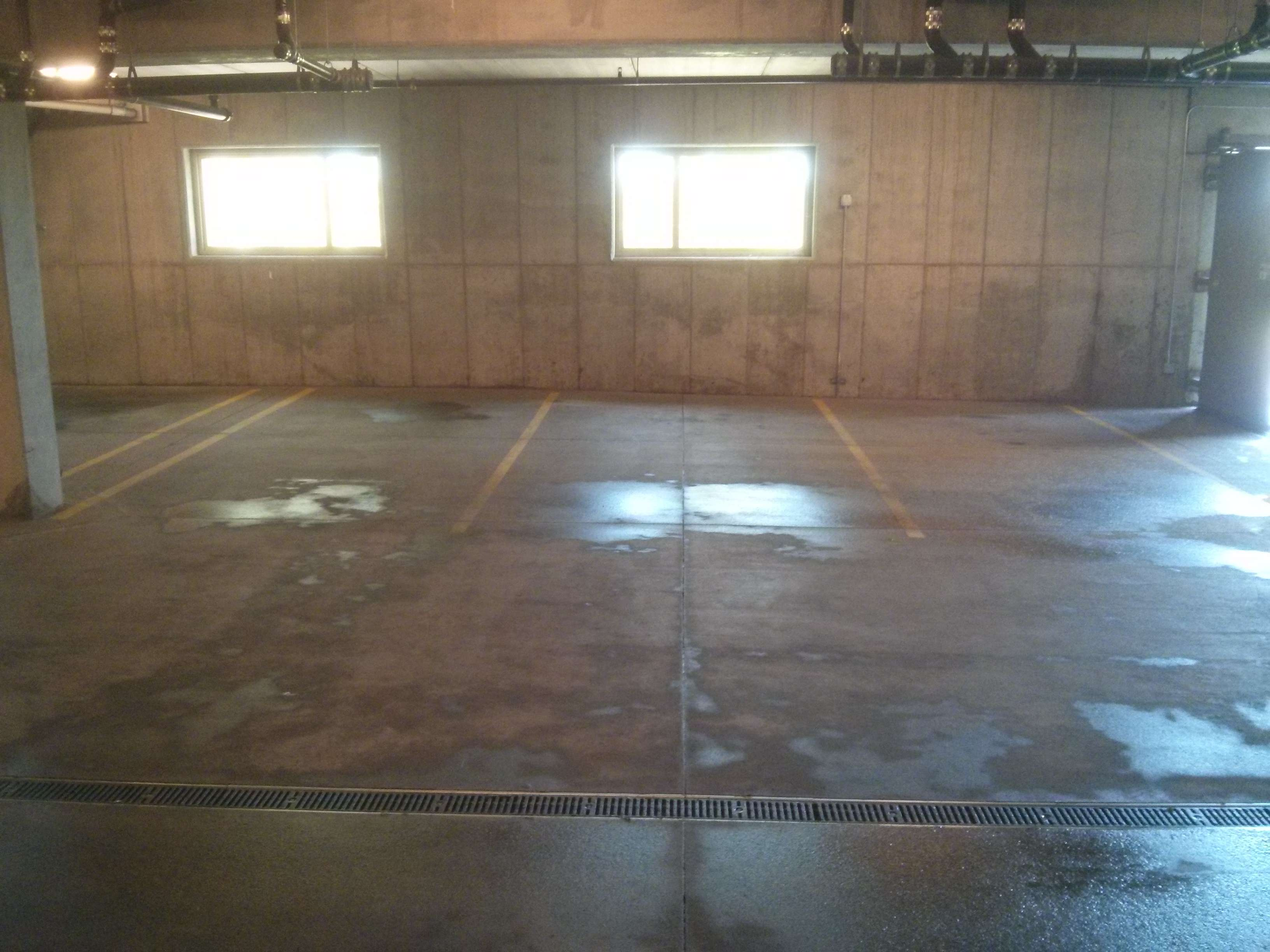 Parking Garage Concrete Floor Pressure Washing, Scrub And Cleaning Services  In Woodbury, MN (