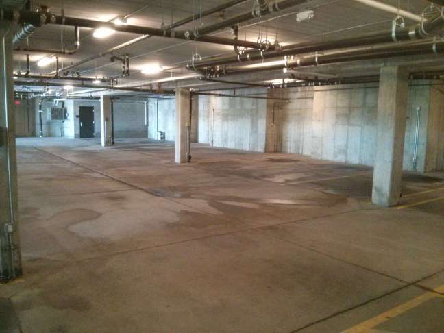 Parking Garage Pressure Wash Cleaning Contractors in Maple Grove MN