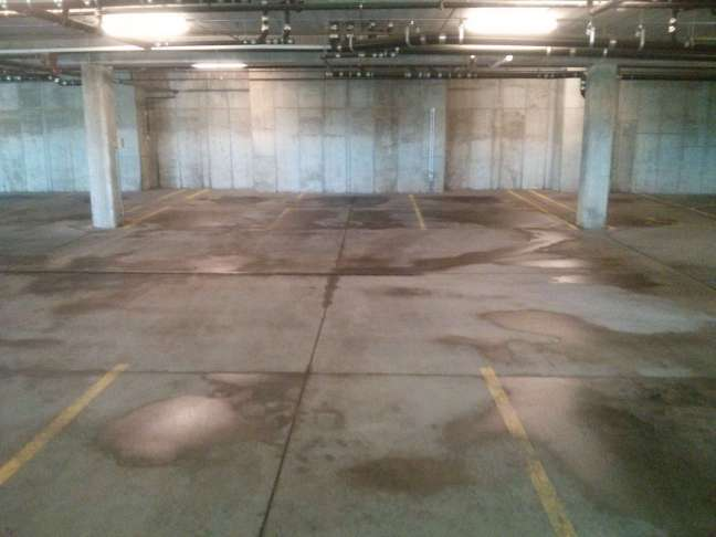 Parking Garage Pressure Wash Cleaning Service in Bloomington, MN