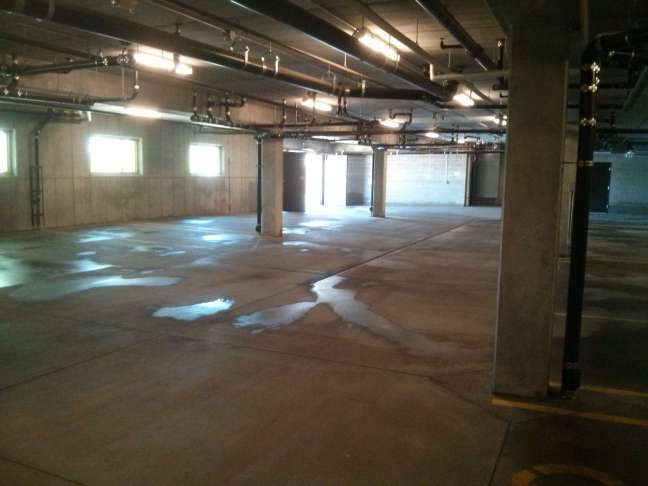 Parking Garage Pressure Wash Cleaning Service in Maple Grove MN