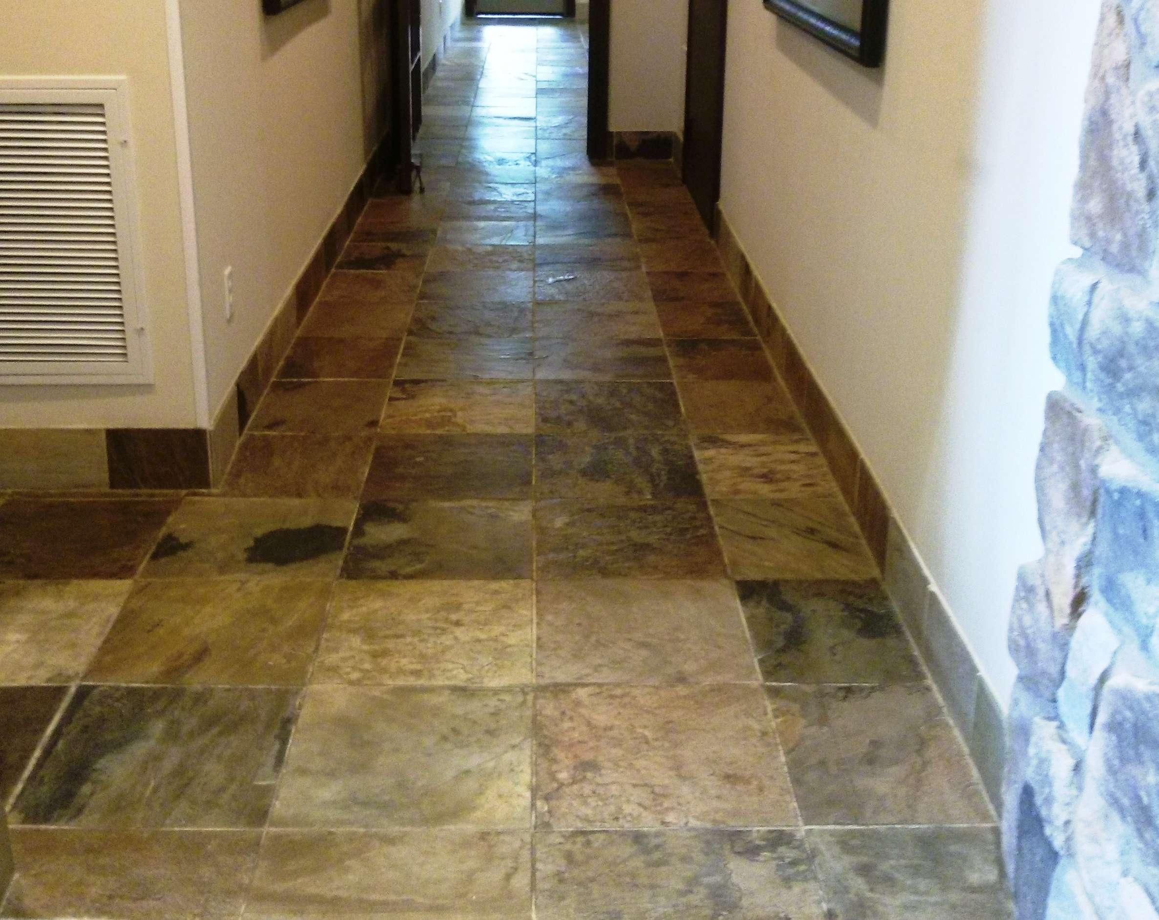 Slate Floor Tiles Need Penetrating Sealer