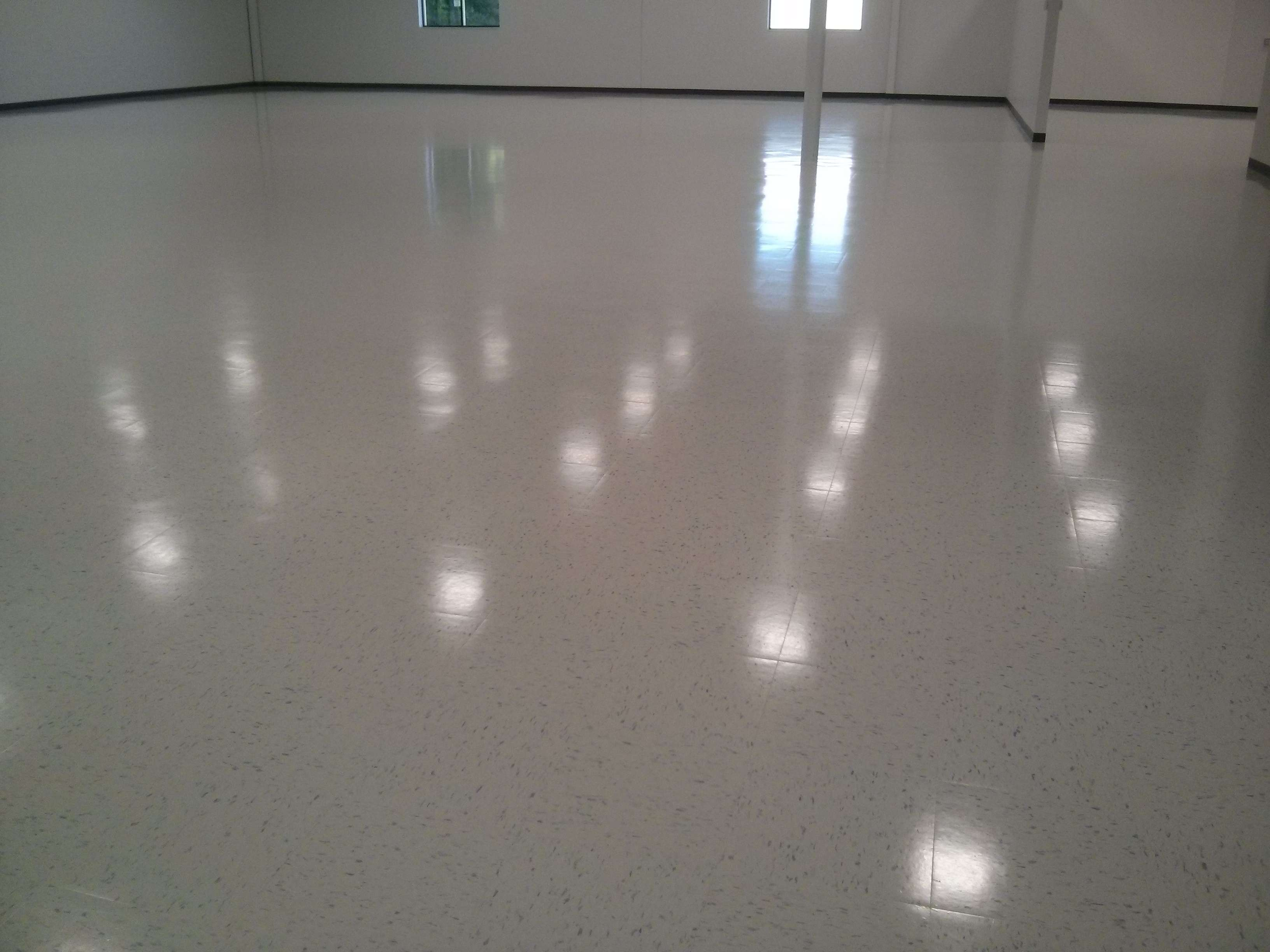 New construction vct floor tile cleaning sealing and clear coat new construction vct vinyl tile floor scrub seal finish minneapolis dailygadgetfo Gallery