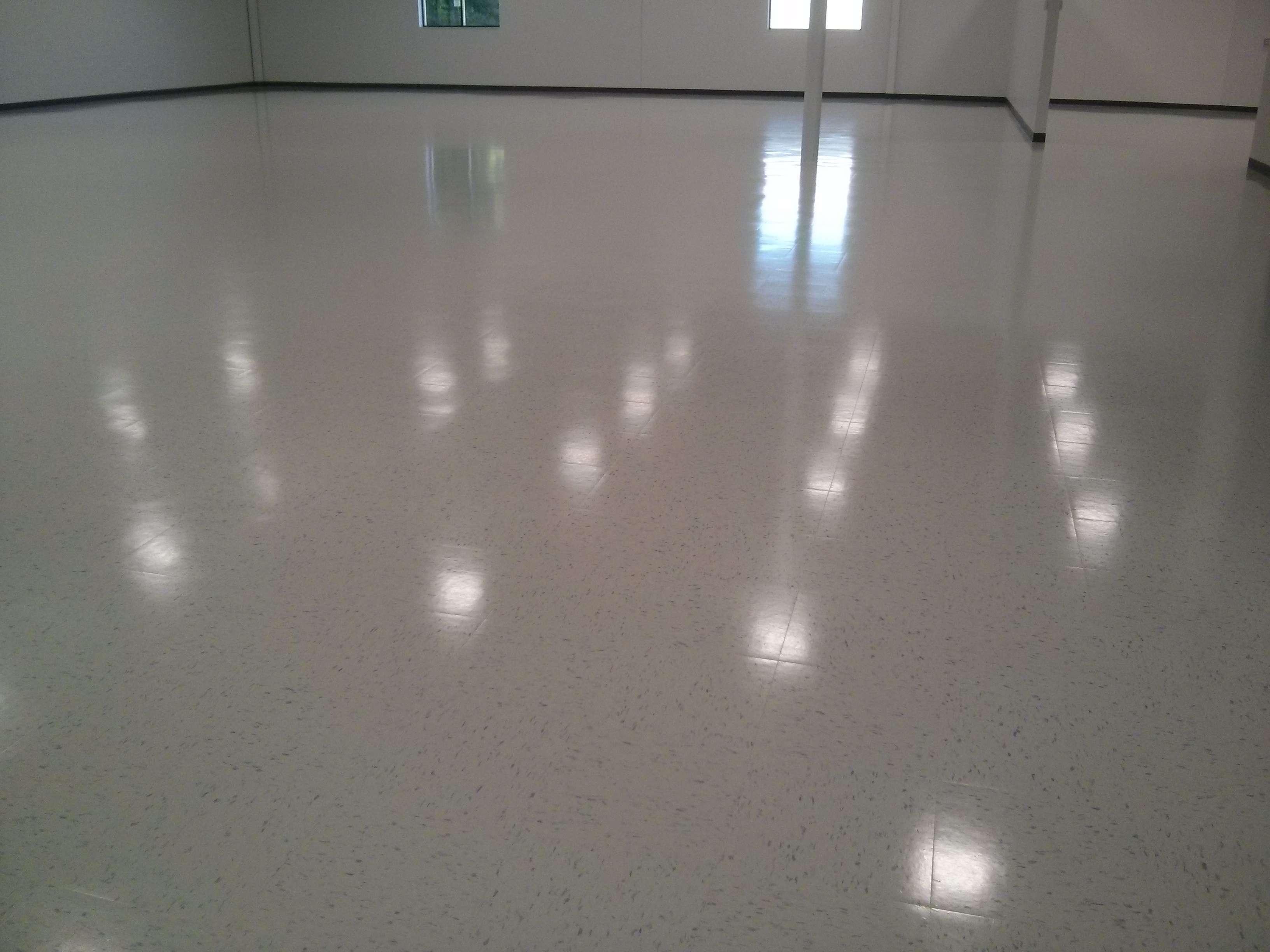 New construction vct vinyl tile floor cleaning sealing and clear new construction vct vinyl tile floor scrub seal finish minneapolis dailygadgetfo Gallery