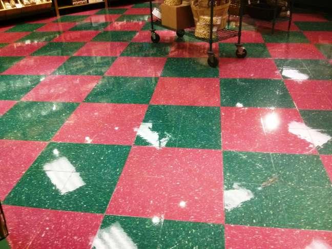 VCT Floor finish
