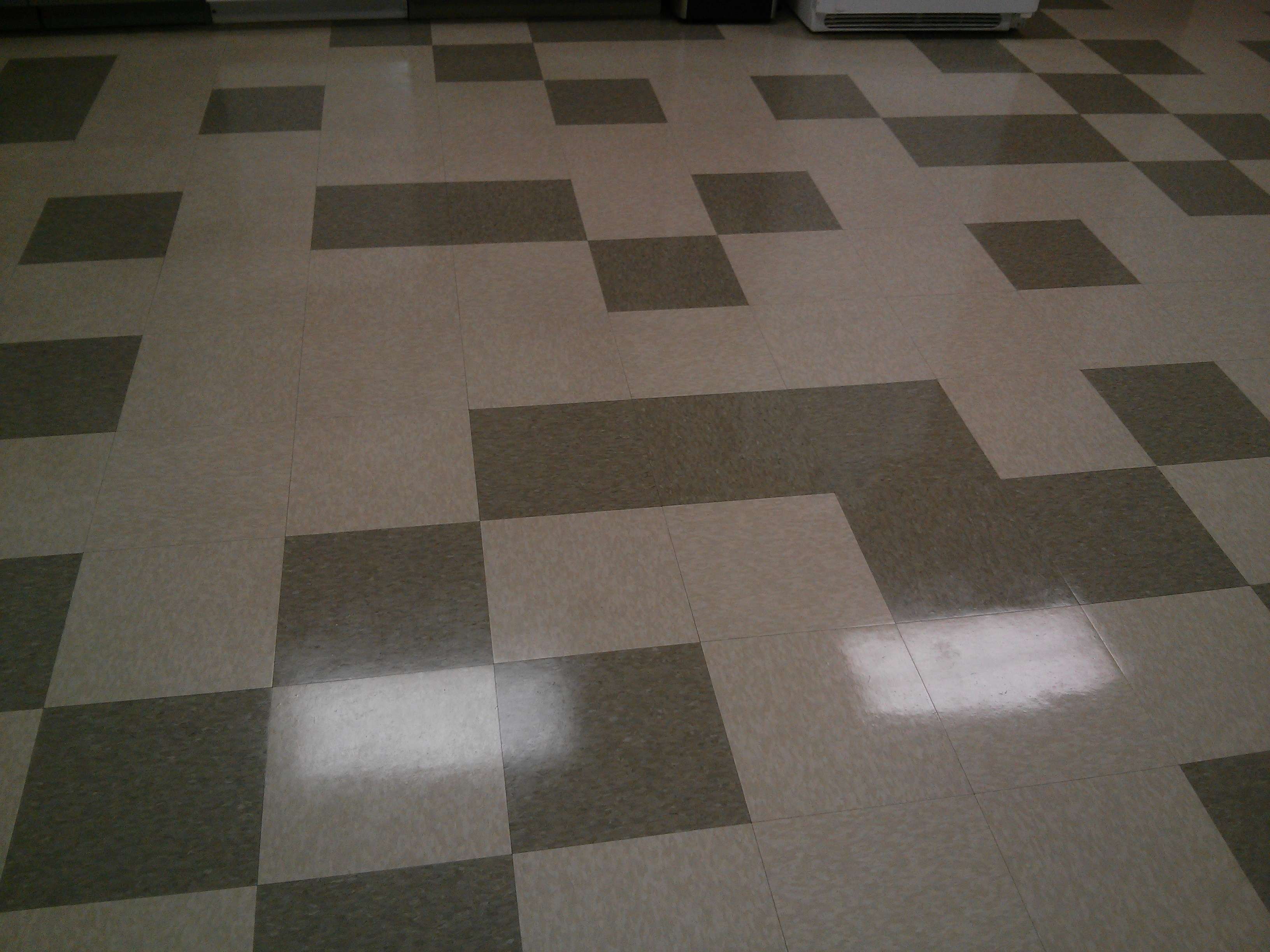 "old vct tile floor strip and ""wax"" job in suburban st paul (mounds"