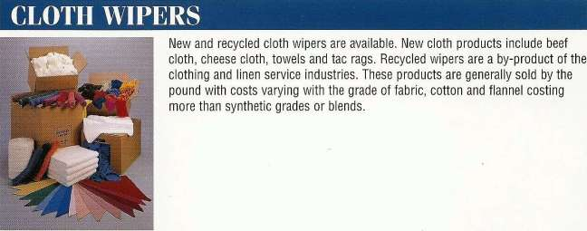 About Cloth Wipers