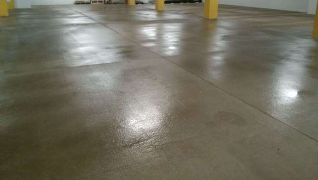 Parking Garage Concrete Floor Pressure Washing Minneapolis