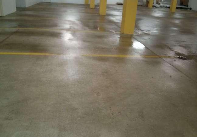 Parking garage concrete floor pressure washing and for How to wash concrete garage floor