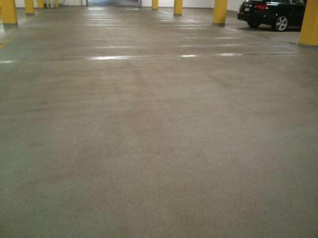 Parking Garage Concrete Floors Pressure Washing Twin Cities