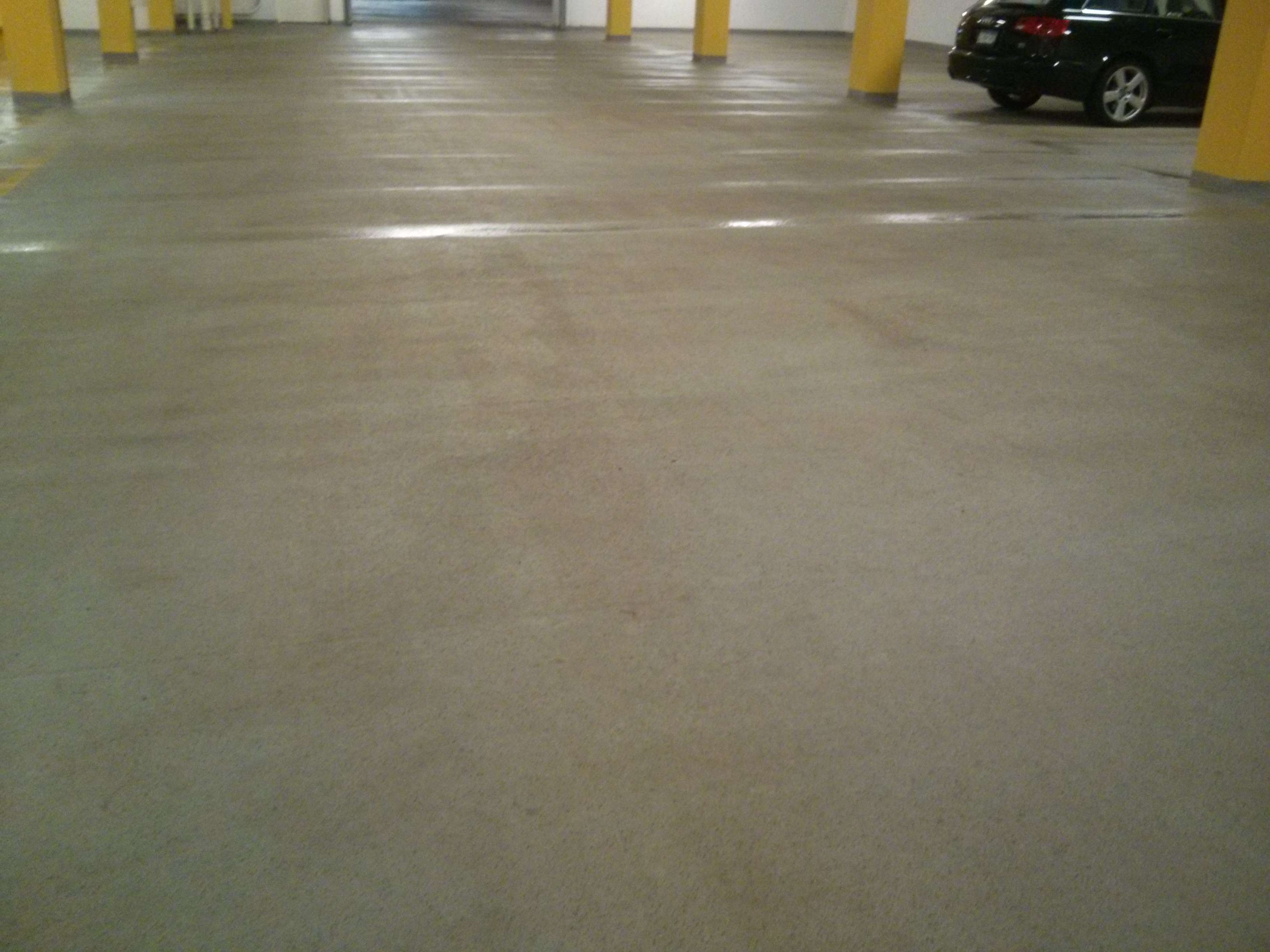 Parking garage floor scrubber ppi blog for Scrubbing concrete floors