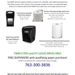 WANTED! Businesses Using Restroom Paper Products From GP (Georgia-Pacific), KC Professional (Kimberly-Clark), SCA-Tork and Wausau Paper-Bay West