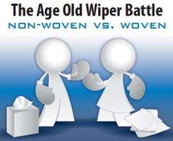 Scrub n Shine Wipers - Woven versus Non Woven