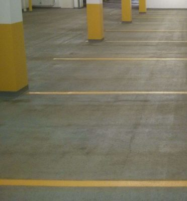 Parking Garage Scrub and Re-Striping in Minneapolis