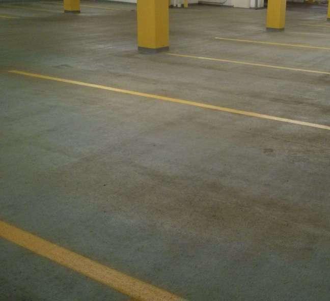 Parking Ramp Floor Scrub and Re-Striping in Minneapolis
