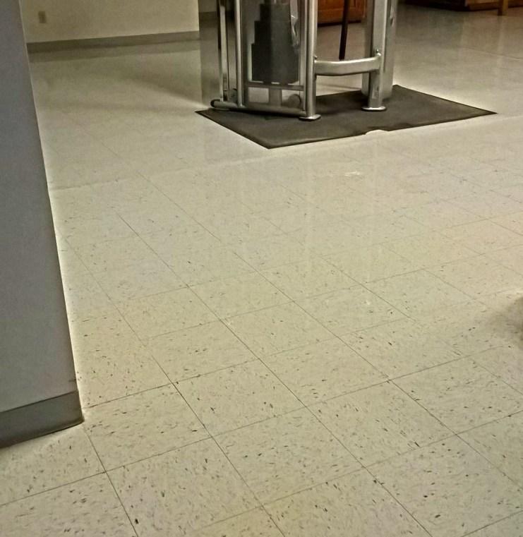 Saint Paul Floor Clear Coating
