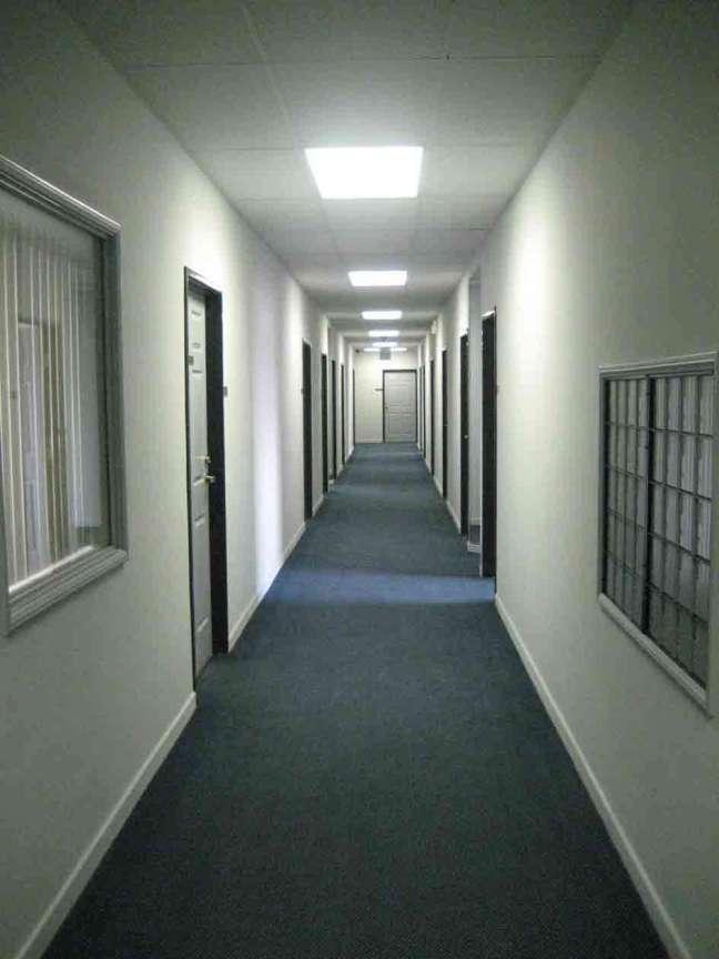 Clean Hallway of Building