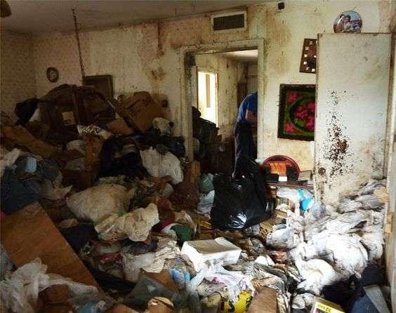 Filthy Apartment Unit