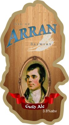 guid ale Pumpclip Arran Template