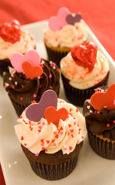 Valentines Themed Cupcakes Scrumptions