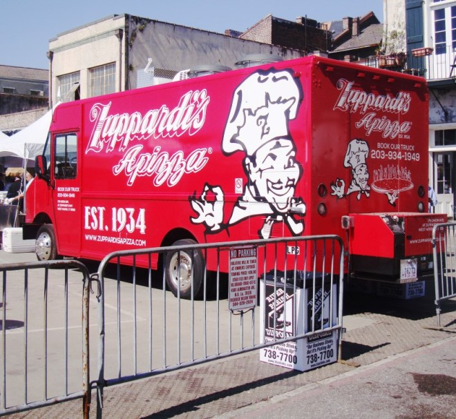 Zuppardi's Brand New Food Truck Was Driven In From San Antonio