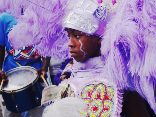 Baby Mardi Gras Indian