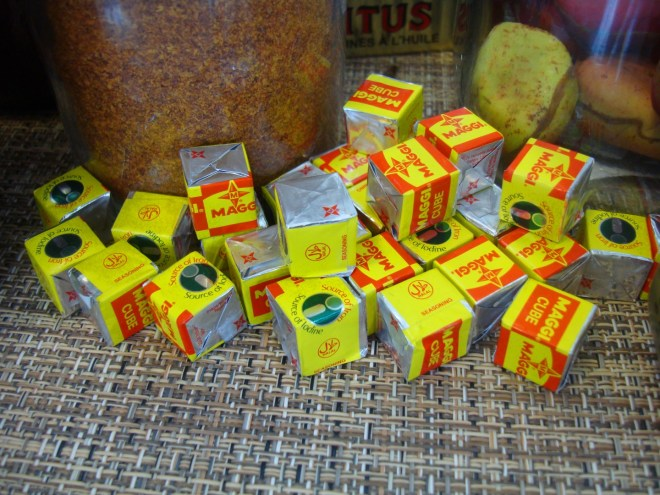 Maggi bouillon cubes are pure umami bombs