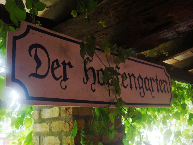 Der Hopfengarten at Broken Wheel Brewery