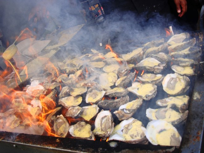 A Photo Of Dragos Char-Grilled Oysters
