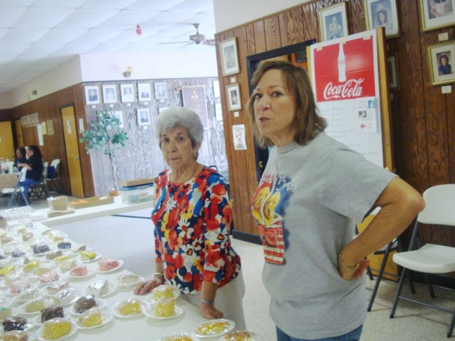 Miss Elizabeth and Miss Sandra. Two Exemplary Bakers Of St Charles Parish