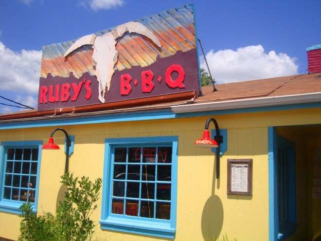 Ruby's BBQ On The North End Of University of Texas