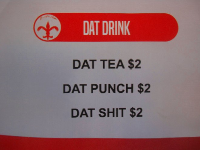 Beverages On Offer At Heard Dat Kitchen