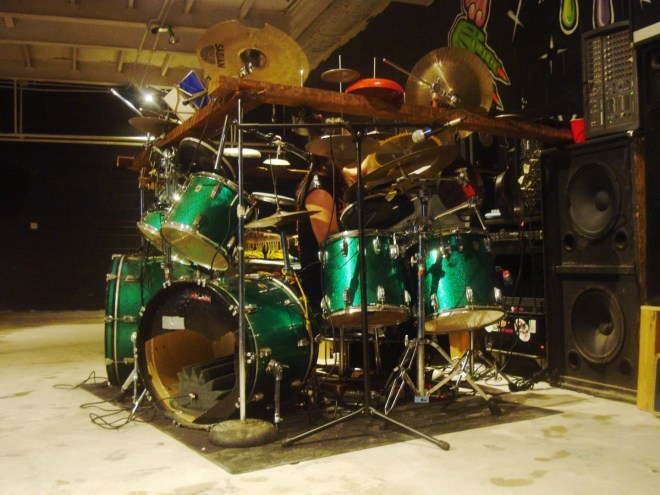 The Drum Kit Of Death At 2016 NoizeFest
