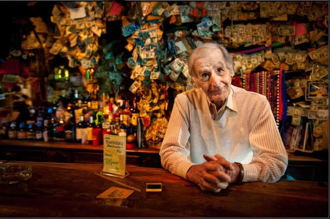Frank Louis Cimini Of Evelyn's Place In New Orleans