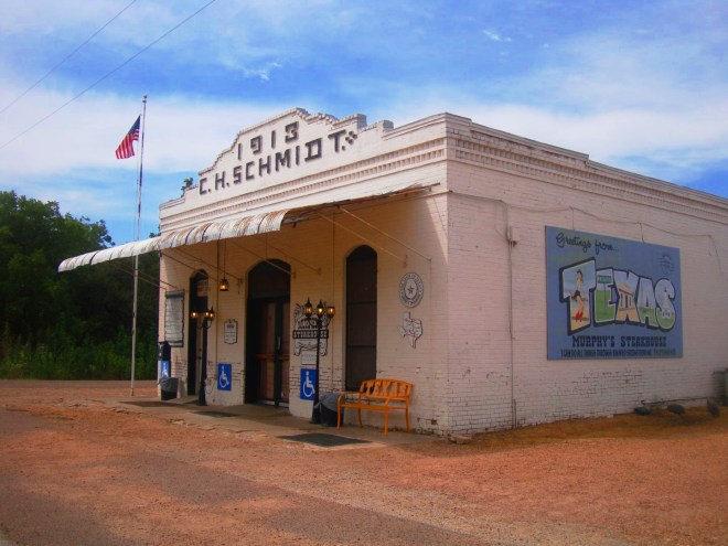 C.H Schmidt Building In Fayette County Texas