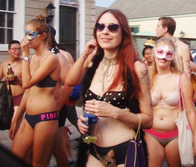 2016 New Orleans Underwear Parade In The 9th Ward