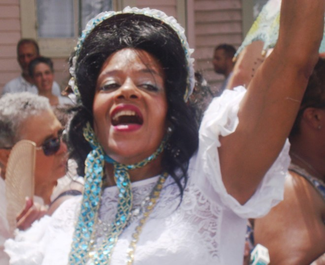 Jubilant Baby Doll Resa Bazile Dancing In The Streets Of Treme