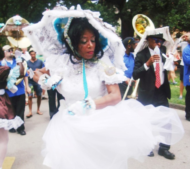 Ms Resa Bazile Performs In New Orleans